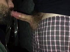 Deepthroat Big Hairy Dick (real amateur)