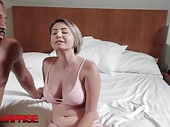 21yo Cheating Cara Dark Gets Dicked By Big Black Cock & Loves it!