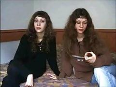 Naughty twin sisters Liena and Svetlana