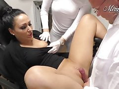 Beim Frauenarzt durchgenommen