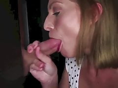 Hot Slut At Glory Hole Swallows 12 Loads By MBD