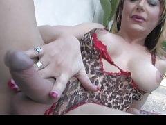 Legendary TS pornstar Danielle Foxxx